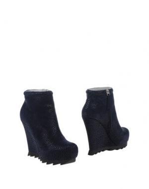 Полусапоги и высокие ботинки CAMILLA SKOVGAARD. Цвет: темно-синий