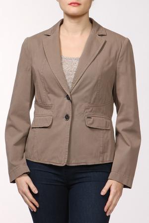 Пиджак Hauber. Цвет: коричневый