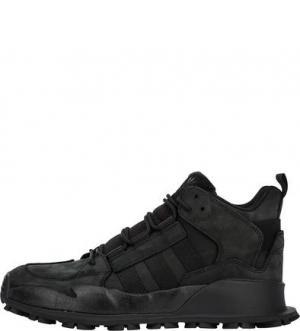 Черные кроссовки из нубука F/1.3 LE adidas Originals. Цвет: черный