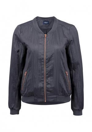 Куртка s.Oliver Denim. Цвет: серый