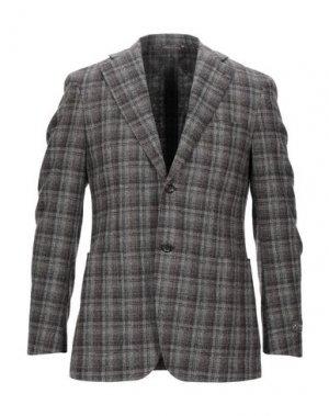 Пиджак CANALI. Цвет: хаки