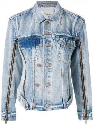 Джинсовая куртка 3.1 Phillip Lim. Цвет: синий