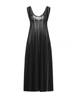 Платье до колена PIANURASTUDIO. Цвет: черный