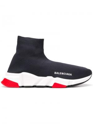 Кроссовки Speed Balenciaga. Цвет: серый