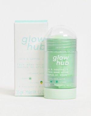Увлажняющая и успокаивающая маска-стик для лица -Прозрачный Glow Hub