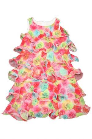 Платье Kate Mack. Цвет: мультицвет