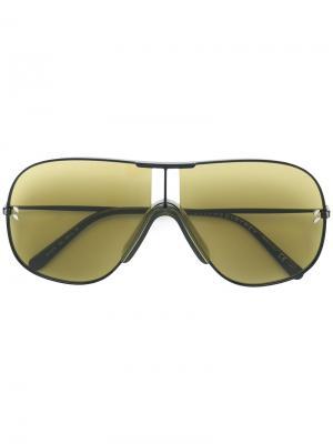 Солнцезащитные очки-авиаторы Stella McCartney Eyewear. Цвет: черный