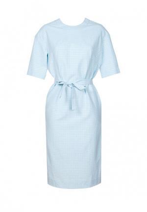 Платье Mayamoda. Цвет: голубой