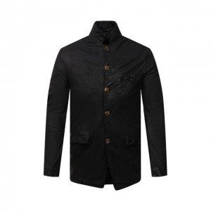 Кожаная куртка Giorgio Brato. Цвет: чёрный