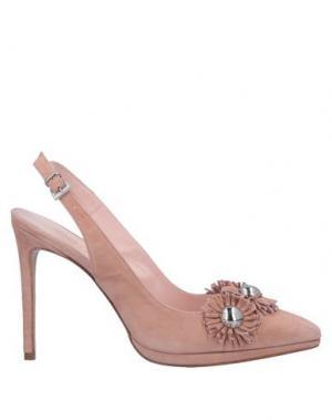 Туфли ANNA F.. Цвет: розовый