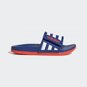Шлепанцы Adilette Comfort Performance adidas. Цвет: красный