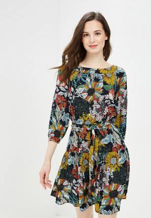 Платье Argent. Цвет: разноцветный
