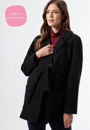 Пальто Dorothy Perkins Maternity. Цвет: черный