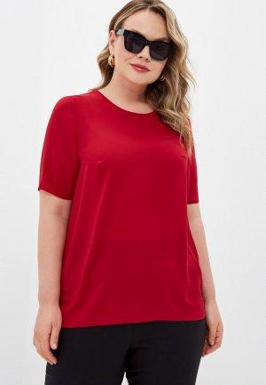 Блуза Forus. Цвет: красный