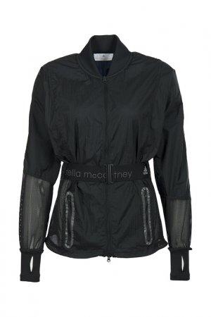 Ветровка Adidas by Stella Mccartney. Цвет: черный