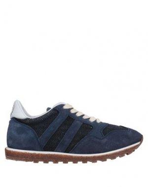 Низкие кеды и кроссовки ALBERTO FASCIANI. Цвет: темно-синий