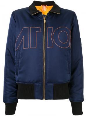 Куртка-бомбер Tribe Nation P.E. Цвет: синий