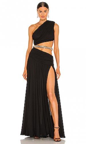 Вечернее платье jafari Bronx and Banco. Цвет: черный