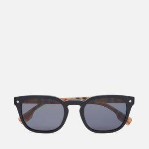 Солнцезащитные очки Ellis Polarized Burberry. Цвет: чёрный