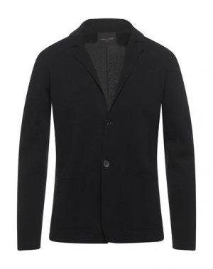 Пиджак ROBERTO COLLINA. Цвет: черный