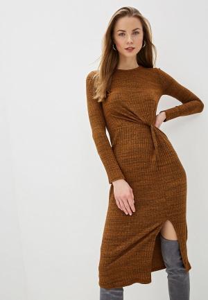 Платье River Island. Цвет: коричневый