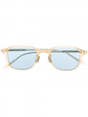 Солнцезащитные очки в квадратной оправе Eyevan7285. Цвет: нейтральные цвета