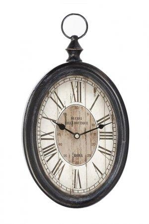 Настенные часы UMA. Цвет: коричневый