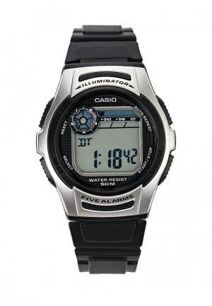 Часы Casio Collection W-213-1A. Цвет: черный