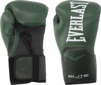 Перчатки боксерские Elite Pro style, размер 8 Everlast. Цвет: зеленый