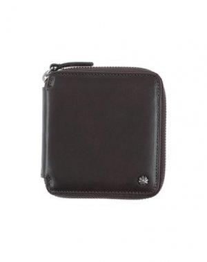 Бумажник ANDREA D'AMICO. Цвет: темно-коричневый