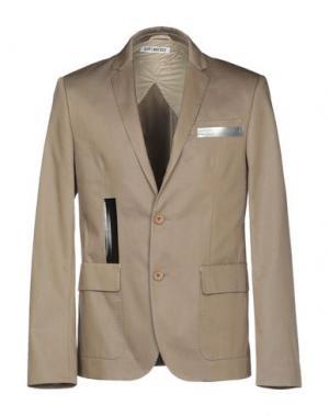 Пиджак BIKKEMBERGS. Цвет: голубиный серый