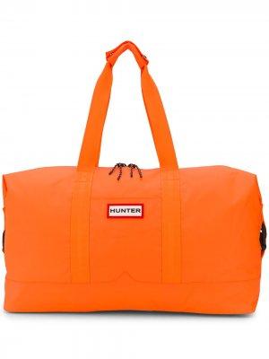 Сумка с логотипом Hunter. Цвет: оранжевый
