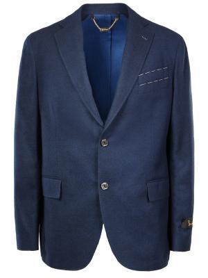 Классический пиджак BILLIONAIRE. Цвет: синий