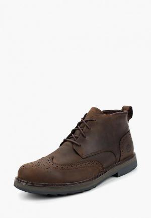 Ботинки Timberland SQUALL CANYON WT CHU POTTING SOIL. Цвет: коричневый