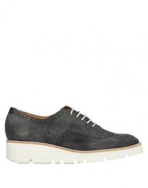 Обувь на шнурках GUGLIELMO ROTTA. Цвет: стальной серый