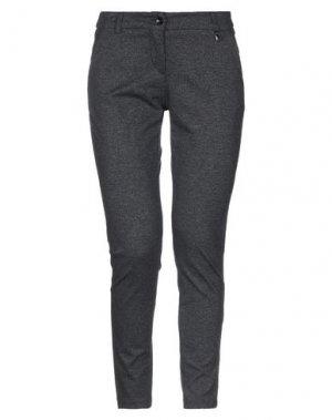 Повседневные брюки FLY GIRL. Цвет: стальной серый