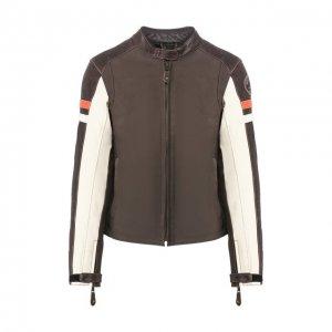 Кожаная куртка Genuine Motorclothes Harley-Davidson. Цвет: коричневый