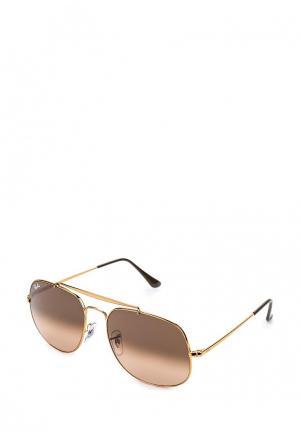 Очки солнцезащитные Ray-Ban® RB3561 9001A5. Цвет: золотой