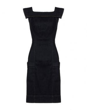 Короткое платье VIVIENNE WESTWOOD ANGLOMANIA. Цвет: синий