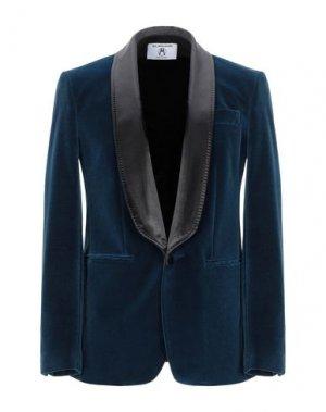 Пиджак ALL APOLOGIES. Цвет: грифельно-синий