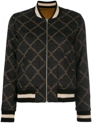Куртка-бомбер Dabney Isabel Marant Étoile. Цвет: чёрный