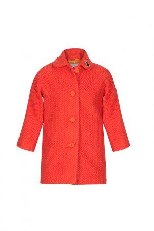 Пальто STILNYASHKA. Цвет: терракотовый