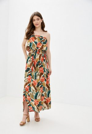 Платье Rip Curl TROPIC COAST MAXI DRES. Цвет: разноцветный