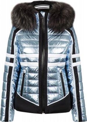 Куртка утепленная женская Crash m.Kap+P, размер 46 Sportalm. Цвет: голубой