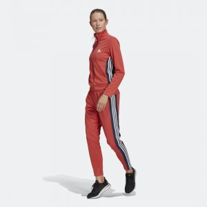 Спортивный костюм Team Sports Sportswear adidas. Цвет: красный