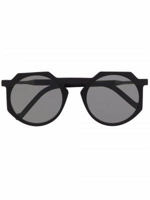 Солнцезащитные очки WL0028 VAVA Eyewear. Цвет: черный