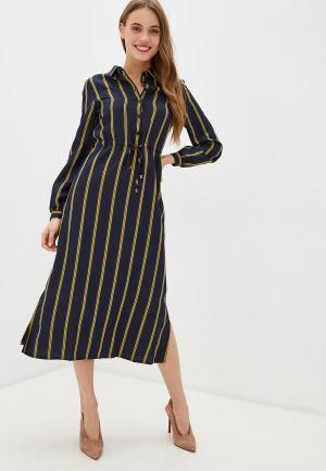 Платье UNQ. Цвет: синий