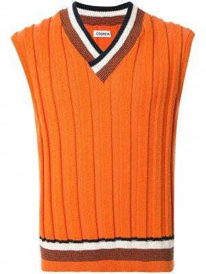 Трикотажный жилет Good Summer Coohem. Цвет: оранжевый