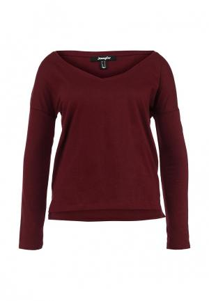 Пуловер Jennyfer. Цвет: бордовый