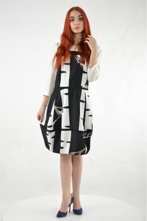 Платье Grinko. Цвет: разноцветный